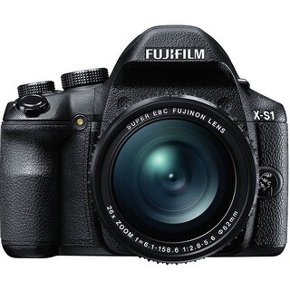 Fujifilm X-S1 Digital Camera (Black) (International Model)