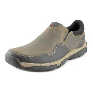 Clarks Walbeck Style Men Round Toe Leather Green Walking Shoe