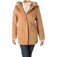 Ellen Tracy Womens Anorak Jacket Winter Parka