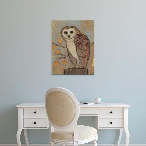Easy Art Prints Norman Wyatt's 'Ornate Owl II' Premium Canvas Art