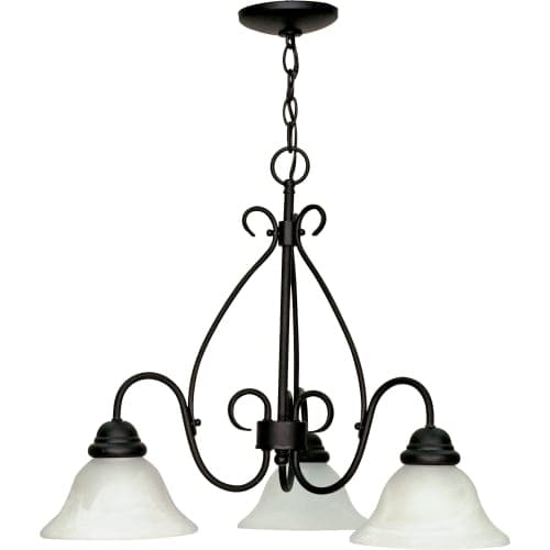"Nuvo Lighting 60/378 Castillo 3 Light 26"" Wide Chandelier"