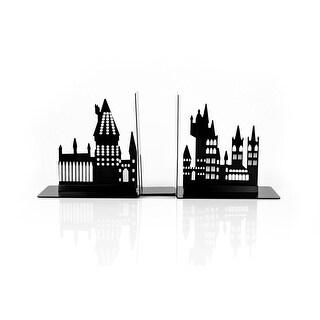 Harry Potter Hogwarts Castle Metal Bookends For Harry Potter Books & Collections - Black