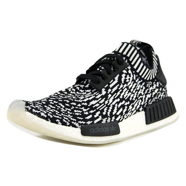 Adidas NMD-R1 Primeknit Men Round Toe Synthetic Black Sneakers