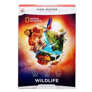 Mattel View-Master Experience Pack National Geographic, Wildlife