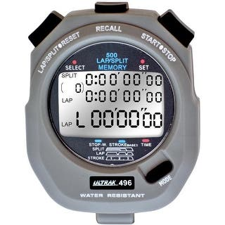 Ultrak 496 - 500 Lap Dual Split Memory Stopwatch|https://ak1.ostkcdn.com/images/products/is/images/direct/92db09729ee4484b9b1ade8f8bd606ddbf26564f/Ultrak-496---500-Lap-Dual-Split-Memory-Stopwatch.jpg?impolicy=medium