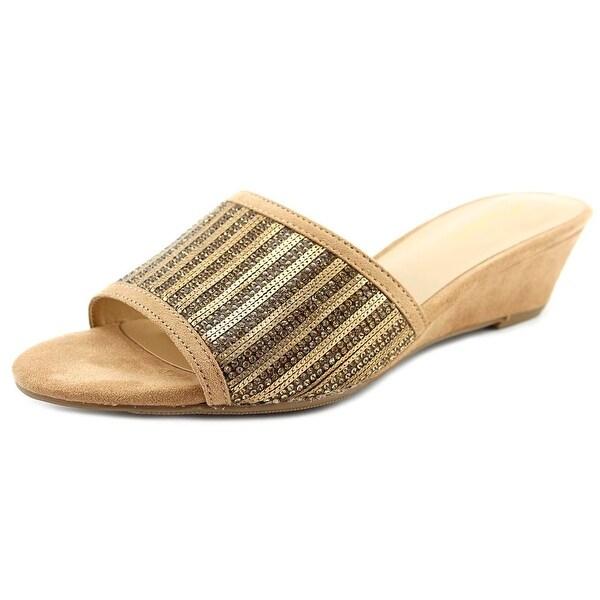 Thalia Sodi Riya Nude Bling Sandals