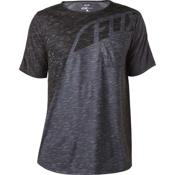 Fox Racing 2017 Men's Seca Short Sleeve Knit - 18851 - Charcoal Heather