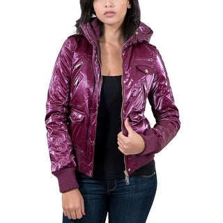 Williams Wilson Arlene Ciclamino Magenta Padded bomber/Hoodie Women's Jacket