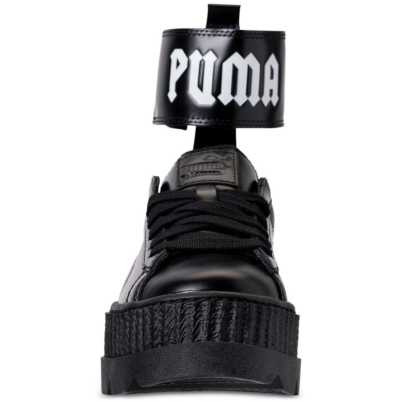 wholesale dealer 06463 0c269 Puma Women's Fenty x Rihanna Ankle Strap Creeper Sneakers Puma Black/Puma  White