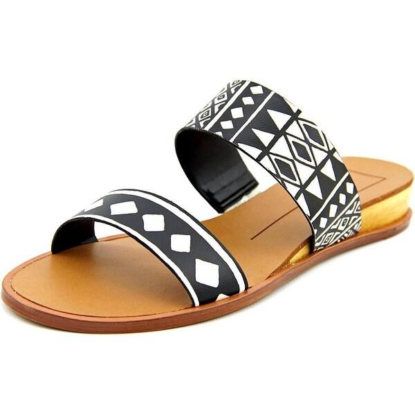Dolce Vita Payce Women Open Toe Leather Slides Sandal