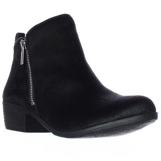 Lucky Brand Brand Basel2 Perforated Ankle Boots - Black
