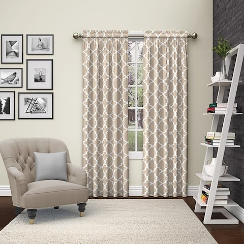 Pairs to Go Vickery Rod Pocket Curtain Panel Pair