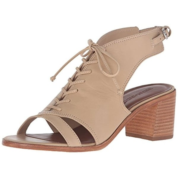 Bernardo Womens Bounty Dress Sandals Leather Stacked Heel