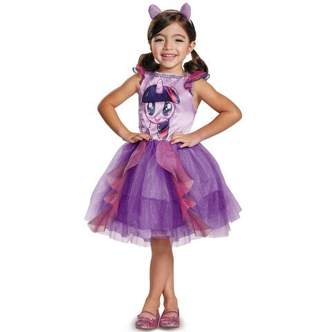 Disguise Twilight Sparkle Movie Classic Toddler Costume - Purple