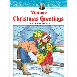 Dover Publications-Creative Haven: Vintage Christmas