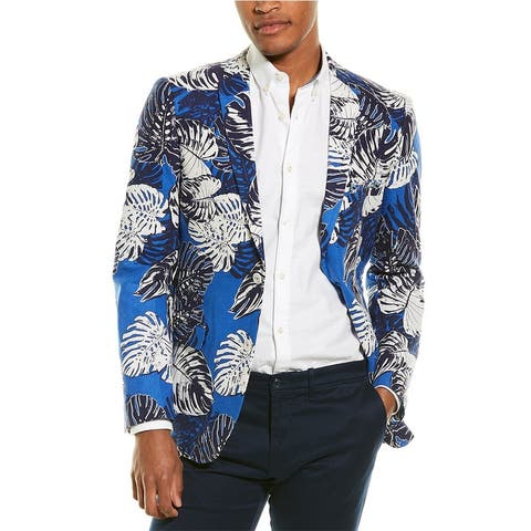Paisley & Gray Dover Linen-Blend Jacket