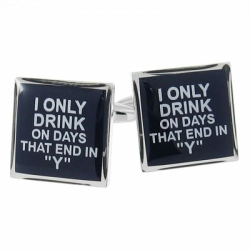 My Drinking Everyday Cufflinks
