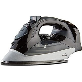 Brentwood Mpi-59B Non-Stick Steam Iron With Retractable Cord - Black