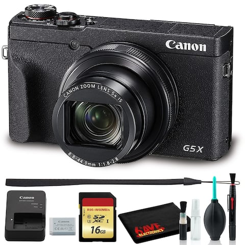 Canon PowerShot G5 X Mark II Digital Camera (Intl Model) with 16GB