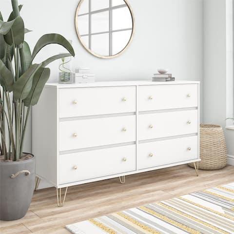 Novogratz Finley 6 Drawer Dresser