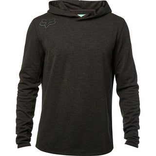 Fox Racing 2017 Men's Cryo Hooded Long Sleeve Tech Knit - black vintage