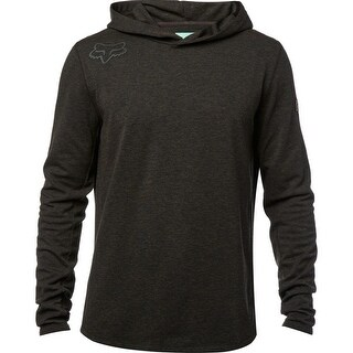 Fox Racing 2017 Men's Cryo Hooded Long Sleeve Tech Knit - black vintage