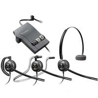 Plantronics EncorePro HW540 Noise Canceling Mono Corded Headset w/ M22 Amplifier