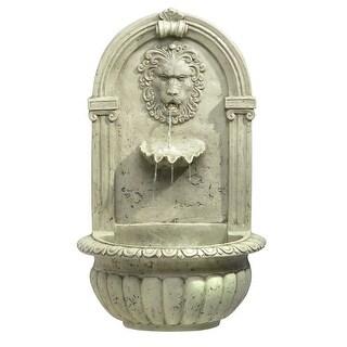 Regal Lion Outdoor Fountain