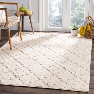 Link to Safavieh Handmade Vermont Elfi Wool Rug Similar Items in Transitional Rugs