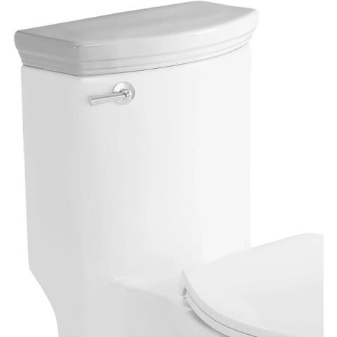 Eago R-364LID Replacement Tank Lid and Flushing Mechanism - White