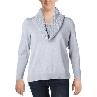 MICHAEL Michael Kors Womens Plus Pullover Sweater Knit Cowl Neck