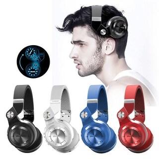 Bluedio Bluetooth 4.1 Headsets Turbine T2 Wireless Stereo Headphones, Black