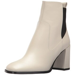 Via Spiga Womens delaney Leather Square Toe Ankle Fashion Boots