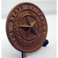 IWGAC 0170K-05118 Cast Iron Texas State Seal