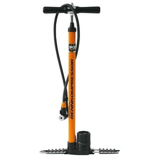 SKS Rennkompressor Bicycle Floor Pump - Orange