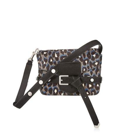 Jimmy Choo Womens Lexie Leopard Pony Hair Handbag