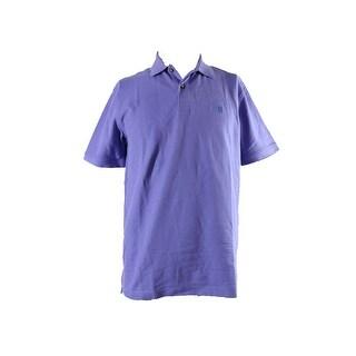 Izod Violet Short-Sleeve Pique Polo Shirt XL