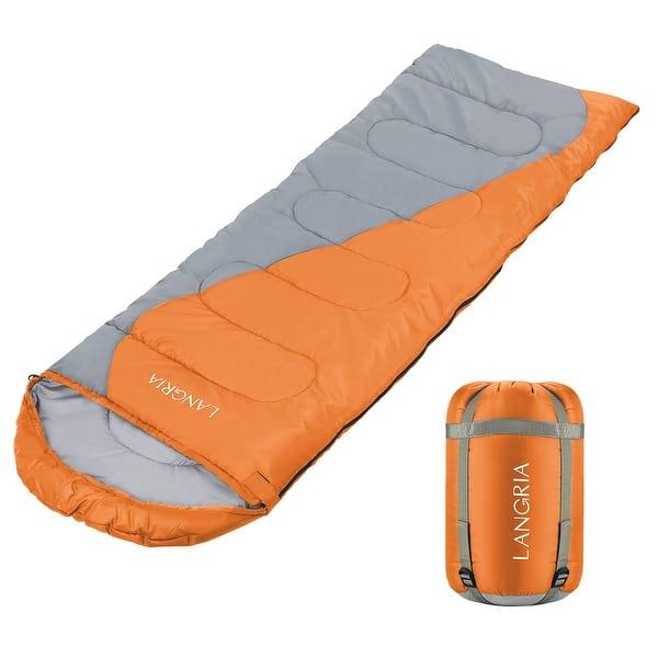 Langria Envelope Sleeping Bag 3 Season Compact