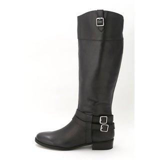 INC International Concepts Women's Fahnee Knee High Riding Boot