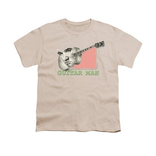 Elvis Guitar Man Big Boys Youth Shirt