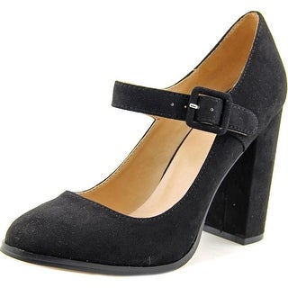 Mix No 6 Asuviel Women Round Toe Synthetic Black Mary Janes