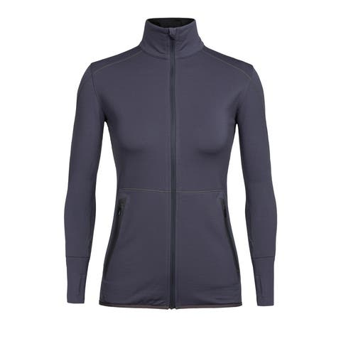 Icebreaker Women's Comet L/S Full Zip Top - Monsoon - S