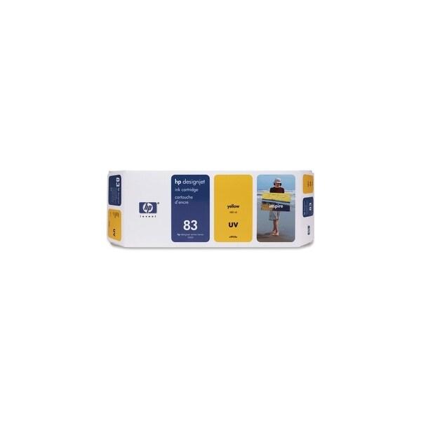 HP 83 680-ml Yellow DesignJet UV Ink Cartridge (C4943A) (Single Pack)