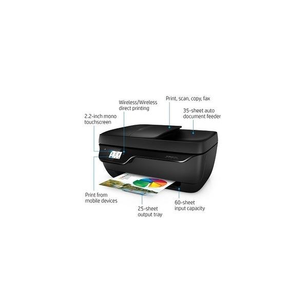 Shop HP OfficeJet 3830 Multifunction Inkjet Printer (CMYK