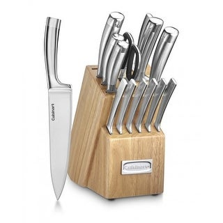 Cuisinart 15-Pc Stainless Steel Cutlery 15-pc Cutlery Set