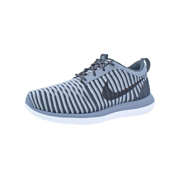 7ebbb798da85 Shop Nike Boys Roshe Two Flyknit Athletic Shoes Colorblock Running ...