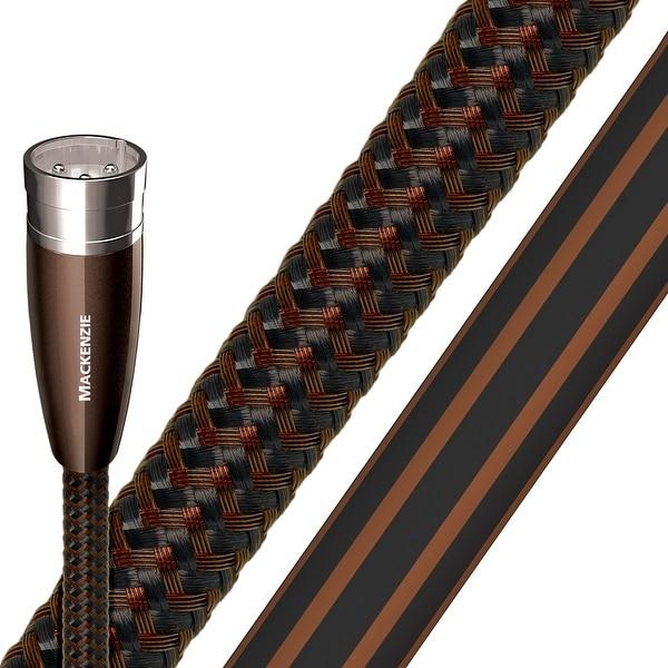 AudioQuest Mackenzie Male XLR to Female XLR Cable - 3.28 ft. (1m) - 2-Pack