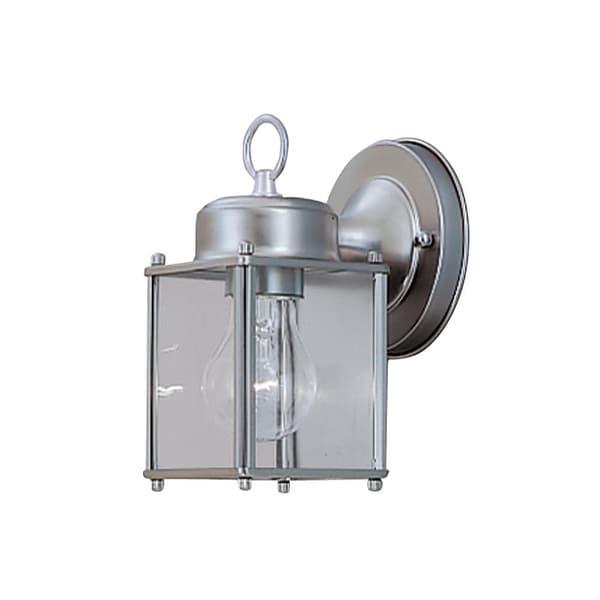 "Designers Fountain 1161-PW 1-Light 4.75"" Wall Lantern - Pewter - n/a"