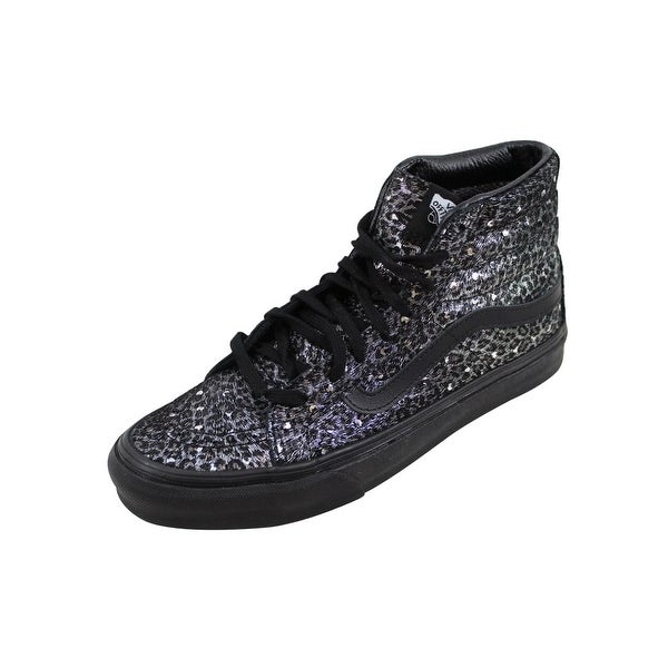 Vans Men's Sk8 Hi Slim Black/Metallic Leopard VN00018IJQC
