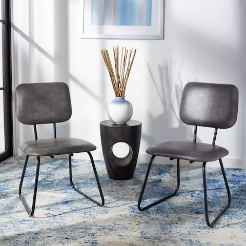 """SAFAVIEH Chavelle Modern Side Chair (Set of 2) - 20.5"""" W x 25"""" L x 33.8"""" H"""